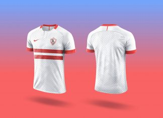 Free-Nike-2019-Sports-T-Shirt-Mockup-PSD
