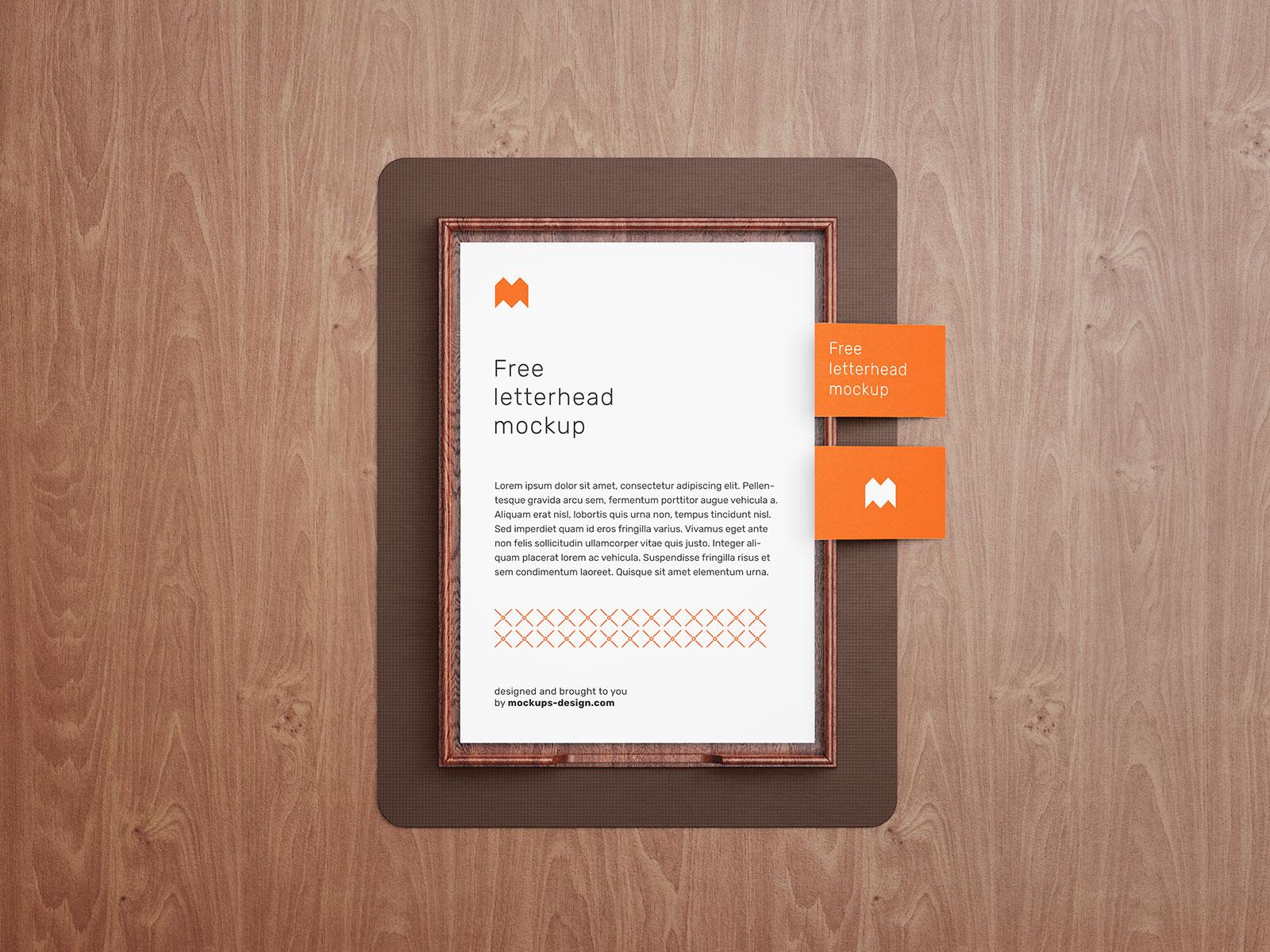Free-Premium-A4-Mockup-PSD-Set-For-Letterhead-&-Flyer-Presentation