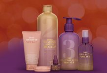 Free Premium Cosmetic Bottle Set Mockup PSD