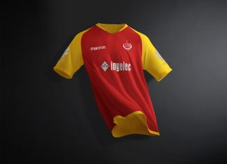 Free-Soccer-Jersey-Half-Sleeves-T-Shirt-Mockup-PSD