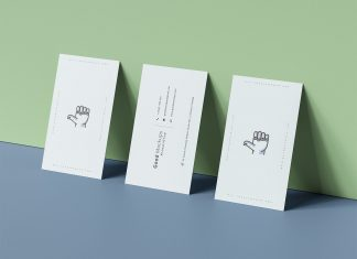 Free-Triple-Business-Card-Mockup-PSD-Presentation