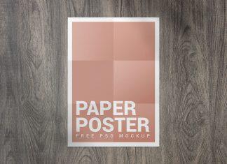 Free-Folded-Paper-Poster-Mockup-PSD-Set