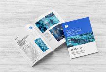 Free Multi-Purpose Perfect Binding US Letter Brochure / Magazine Mockup PSD Set