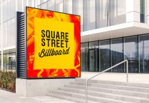 Free-Outdoor-Advertising-Square-Street-Billboard-Mockup-PSD