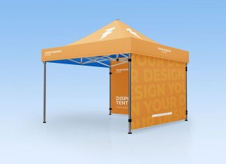 Free-Outdoor-Display-Canopy-Tent-Mockup-PSD