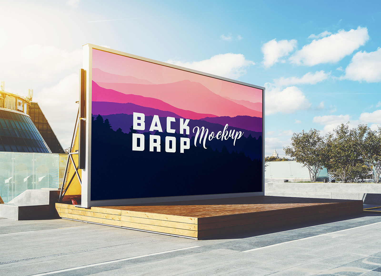 Free-Outdoor-Stage-Backdrop-Mockup-PSD-File