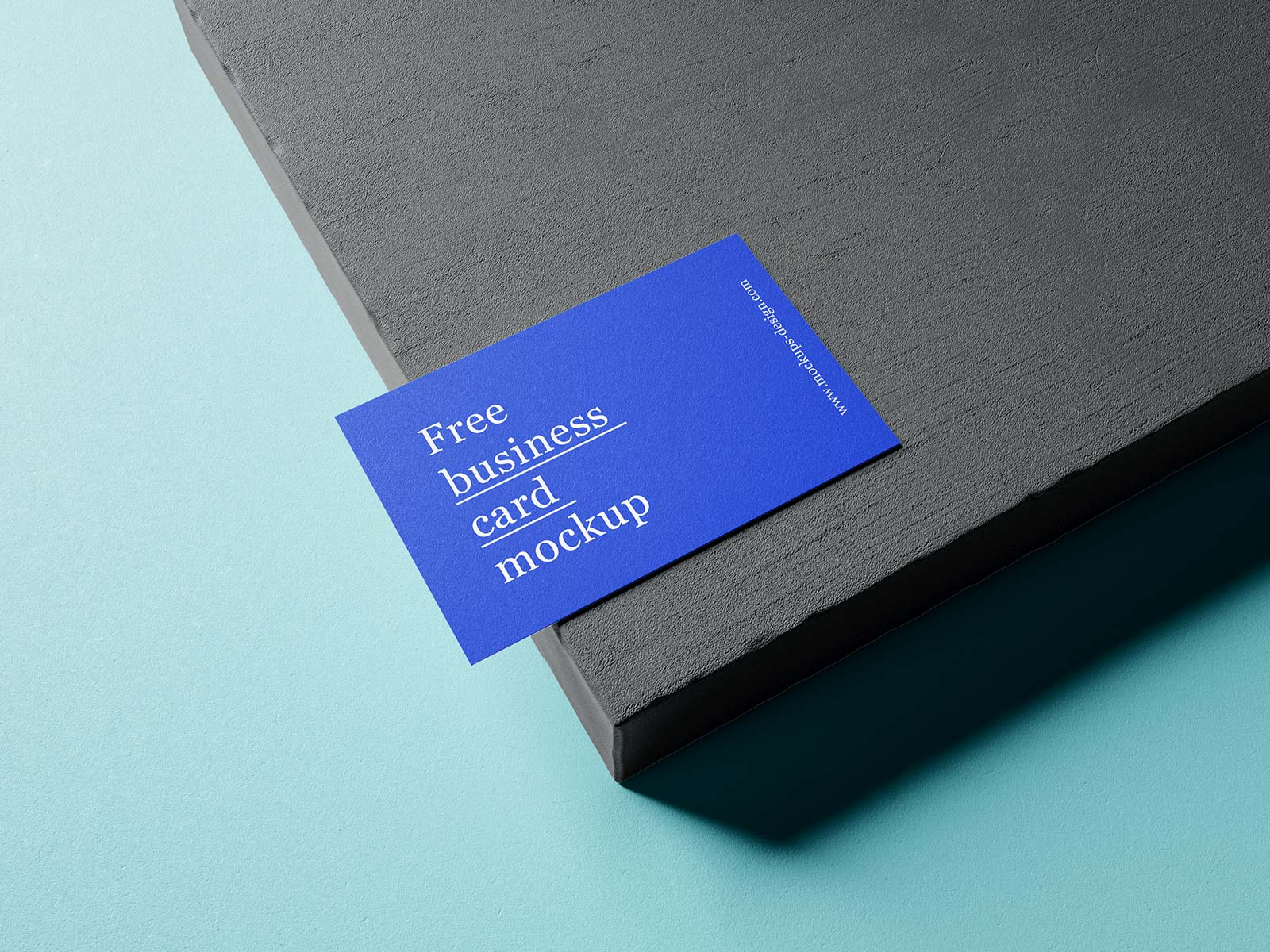 Free Business Card Mockup PSD Set (1)