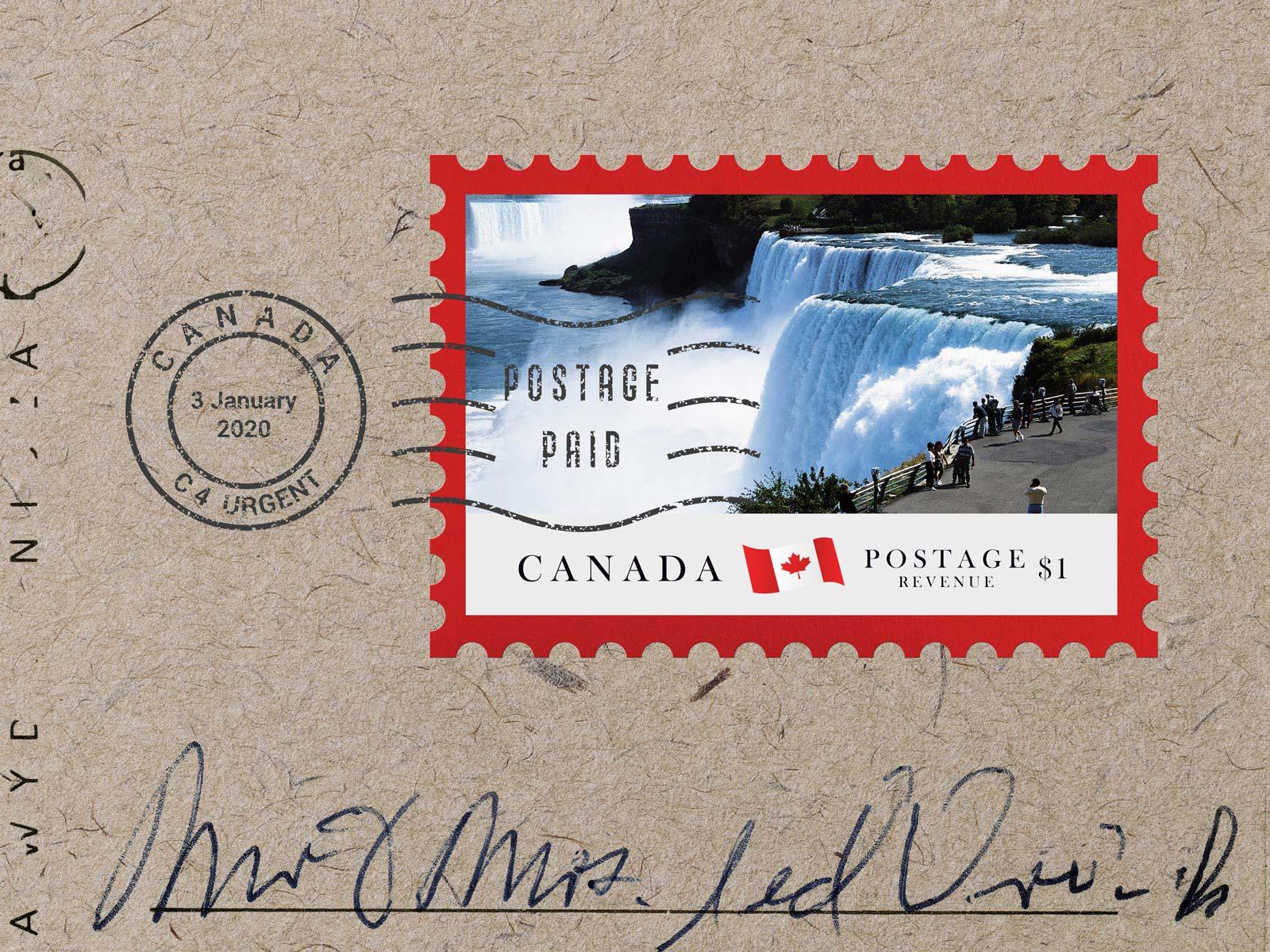 Free-Postage-Stamp-Mockup-PSD-Landscape