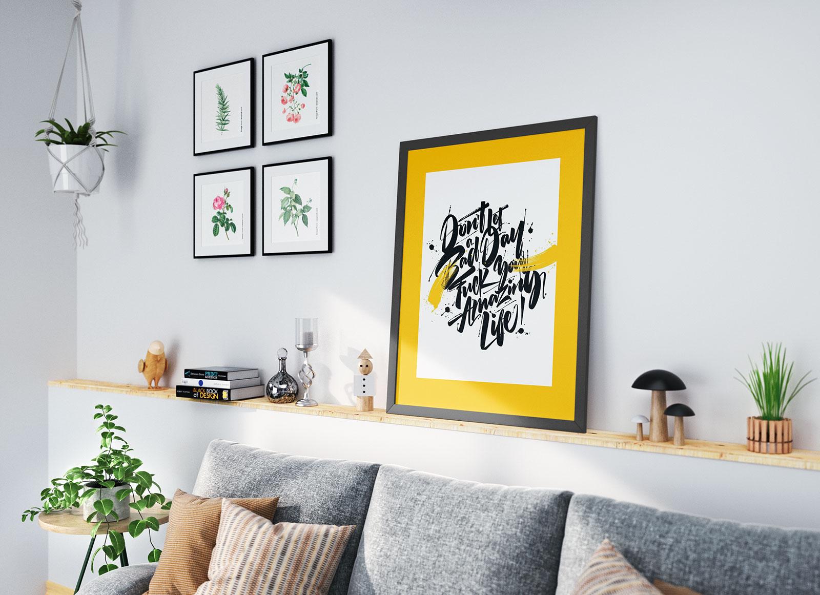 Free_Poster_Frame_Mockup_PSD-Set