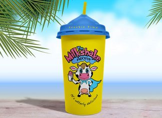 Free-Disposable-Milkshake-Cup-Mockup-PSD