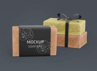 Free-Organic-Homemade-Soap-Bar-Mockup-PSD-Set