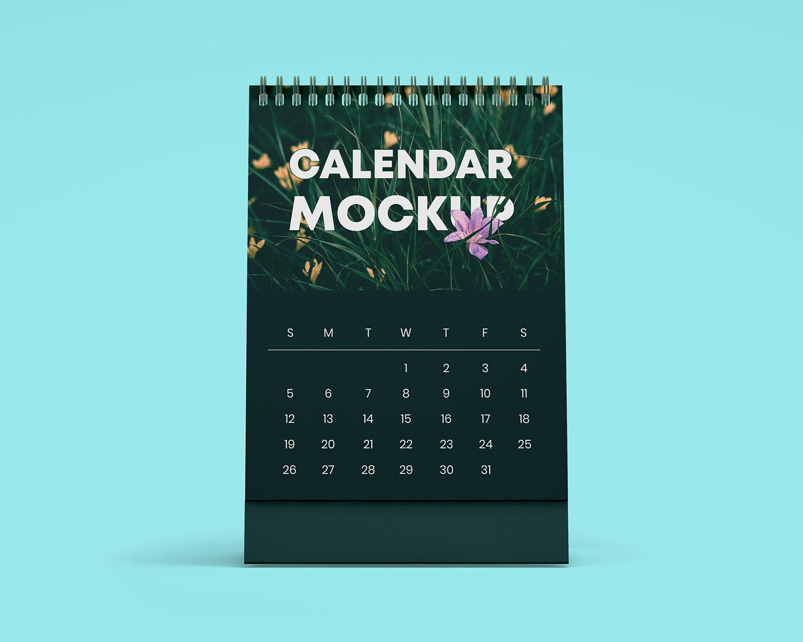 Free-Table-Office-Desk-Tent-Calendar-Mockup-PSD-Set-2
