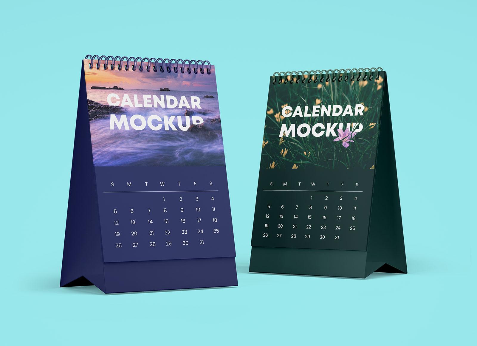 Free-Table-Office-Desk-Tent-Calendar-Mockup-PSD-Set-3