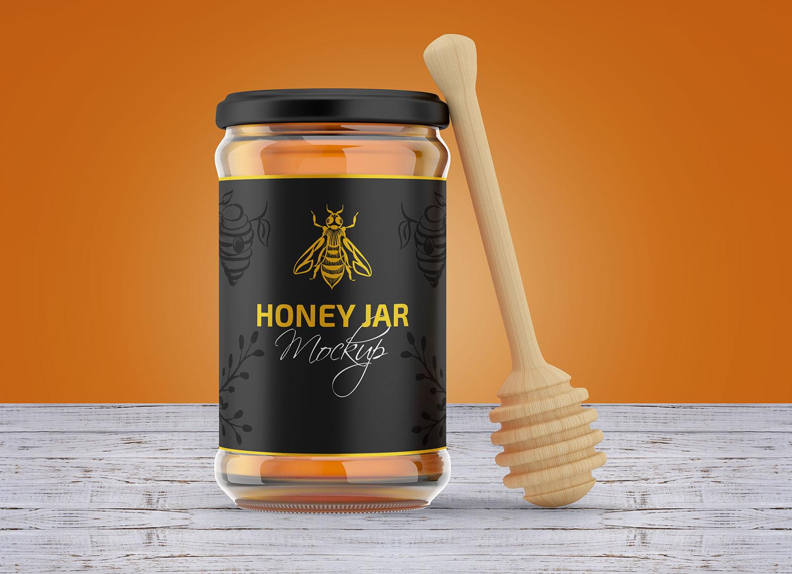Free-Honey-Jar-Mockup-PSD-Set-2