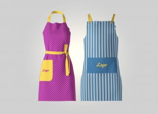Free-Men-&-Women-Kitchen-Apron-Mockup-PSD