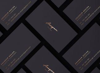 Free-Premium-Black-Business-Card-Mockup-PSD