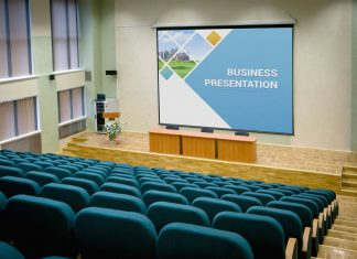 Free-Presentation-Hall-Screen-Mockup-PSD-File