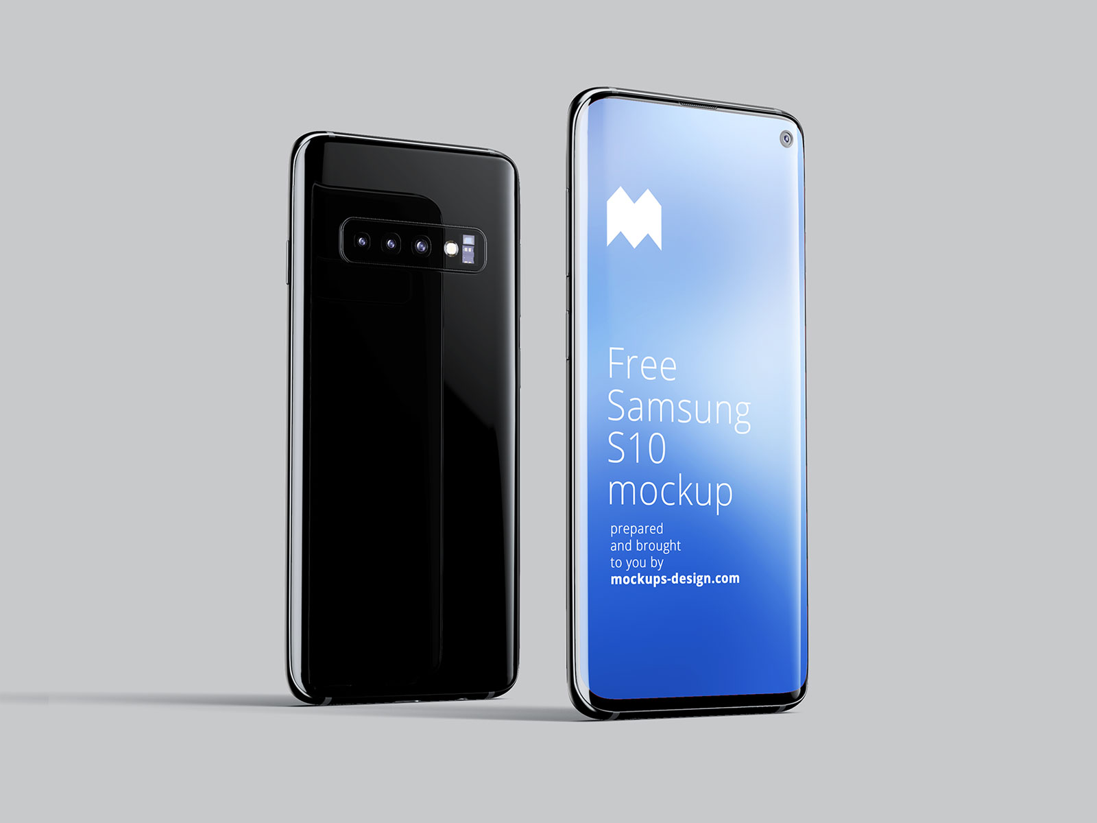 Free Samsung Galaxy S10 Mockup PSD Set