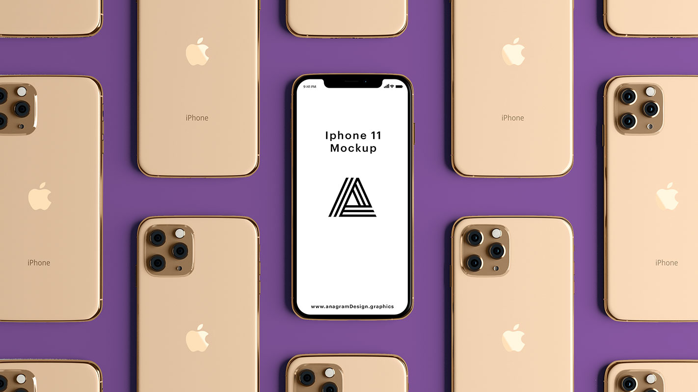 Free-Top-View-_iPhone_11_Mockup_PSD-File-2