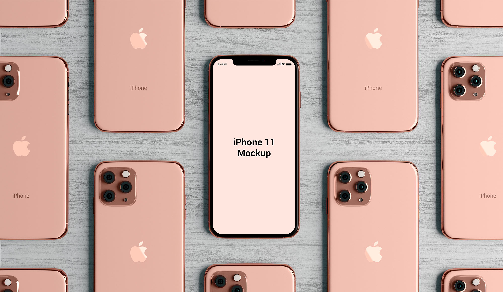 Free-Top-View-_iPhone_11_Mockup_PSD-File