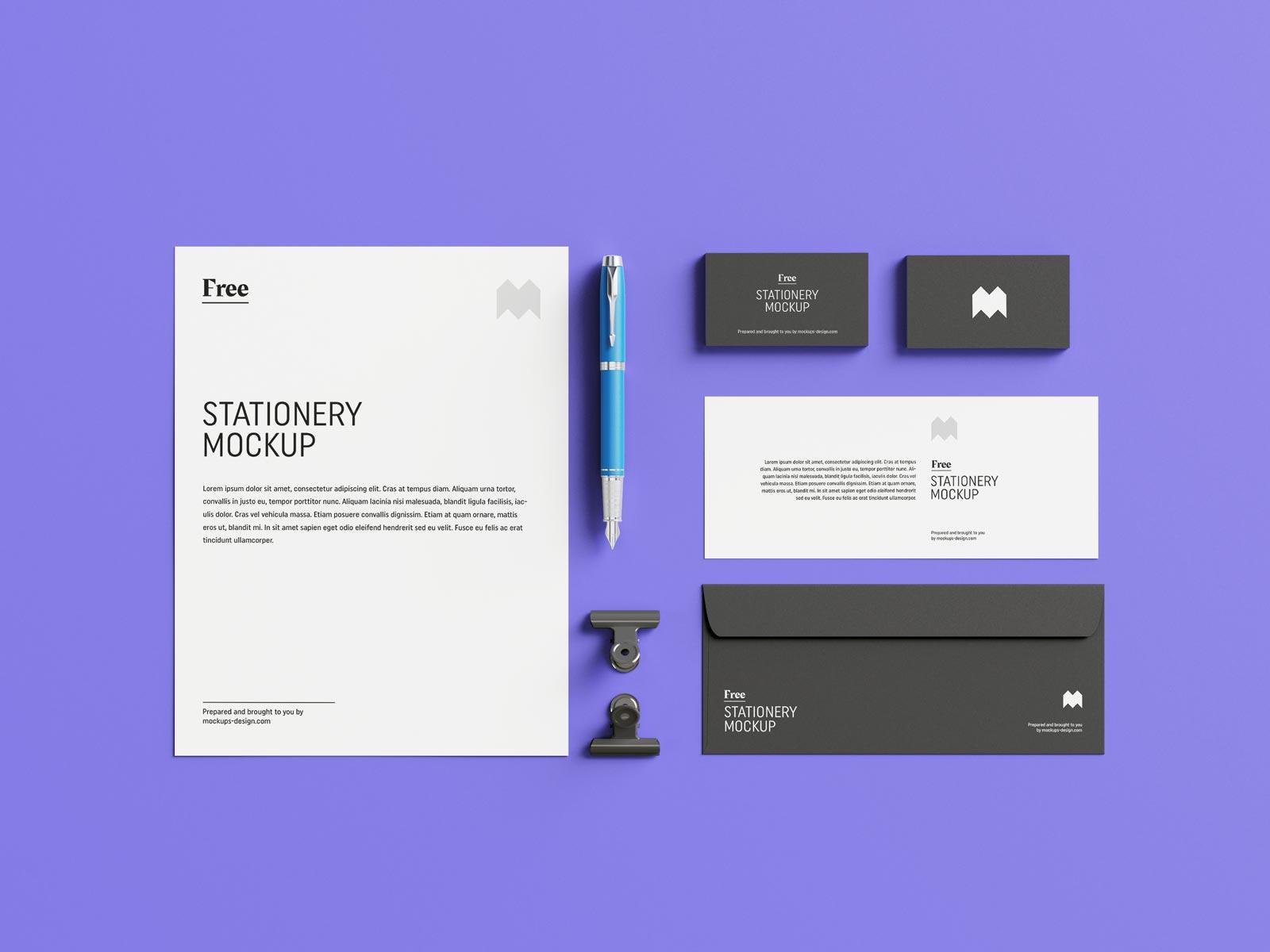 Free-US-Stationary-Mockup-PSD-Set