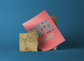 Free-A4-Glossy-Paper-Mockup-PSD
