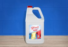 Free-Bleach-Fabric-Softener-White-Plastic-Bottle-Mockup-PSD