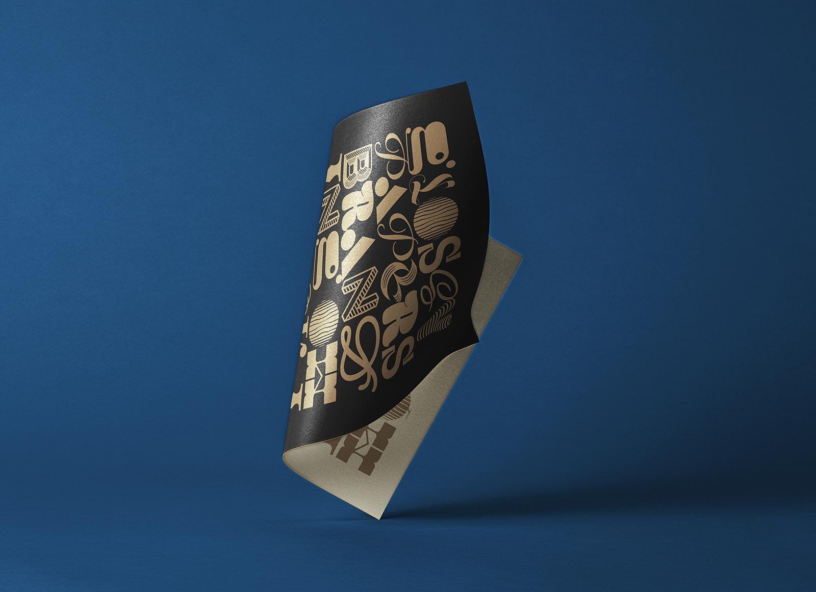 Free-Folded-Glossy-Paper-Branding-Mockup-PSD
