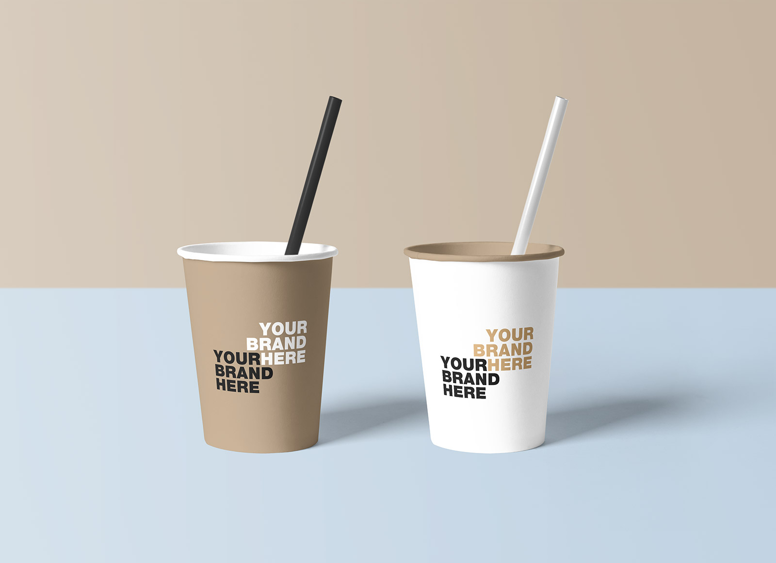 Free-Paper-Coffee-Cup-with-Straw-Mockup-PSD