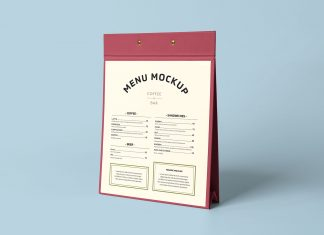 Free-Restaurant-Cafe-Menu-Display-Table-Stand-Mockup-PSD