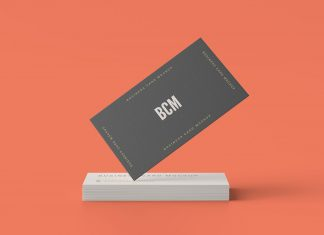 Free-Standard-Business-Card-Mockup-PSD