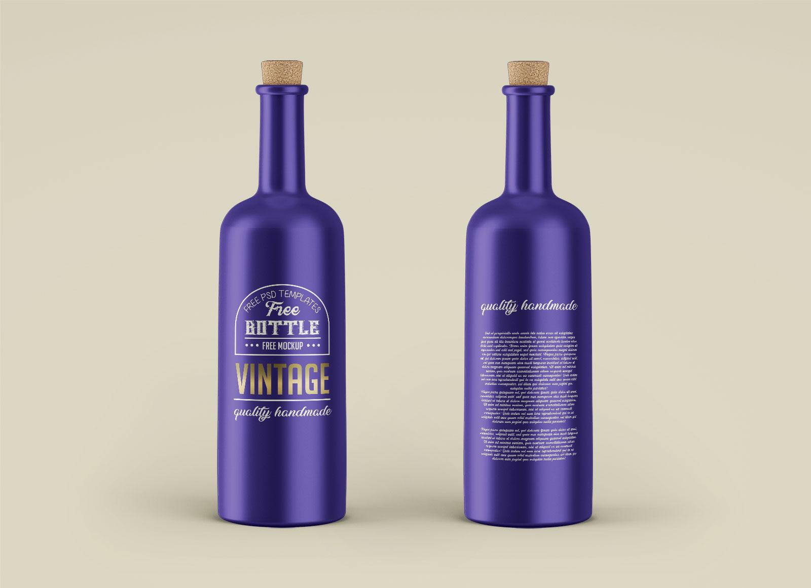 Free-Vintage-Cork-Bottle-Mockup-PSD-Set
