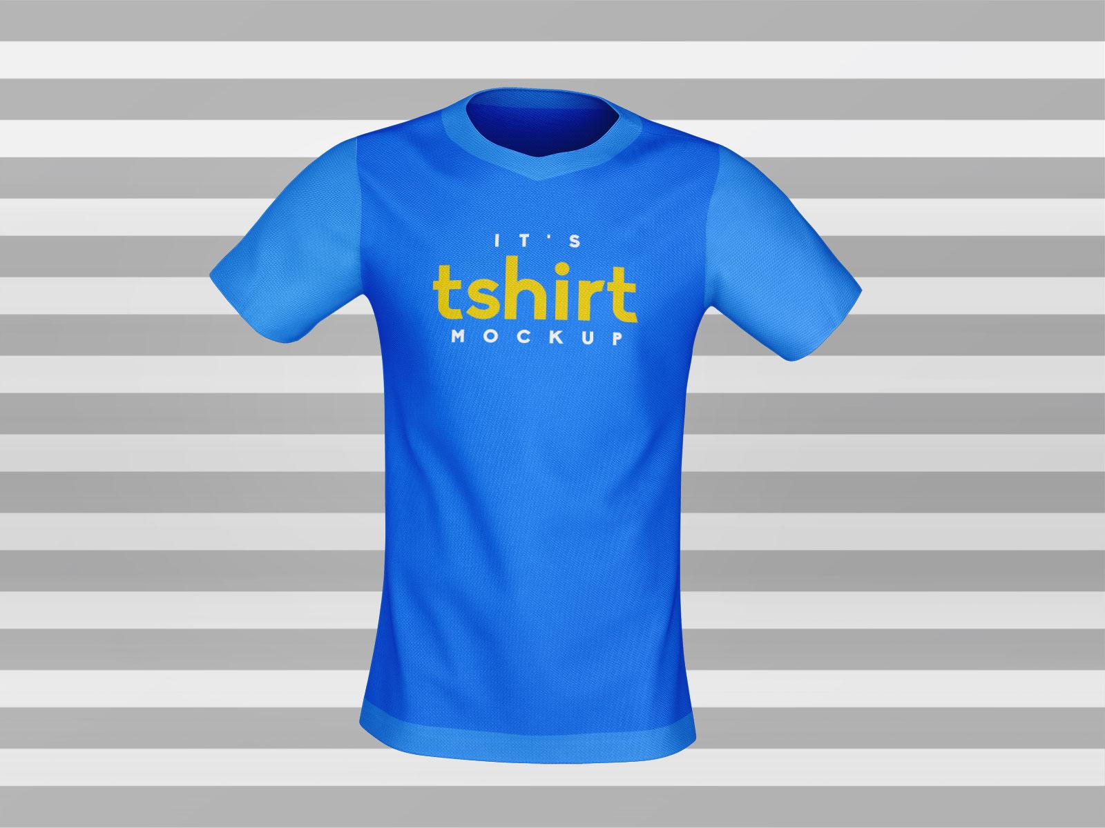 Free-3D-Rendered-Front-Back-T-Shirt-Mockup-PSD
