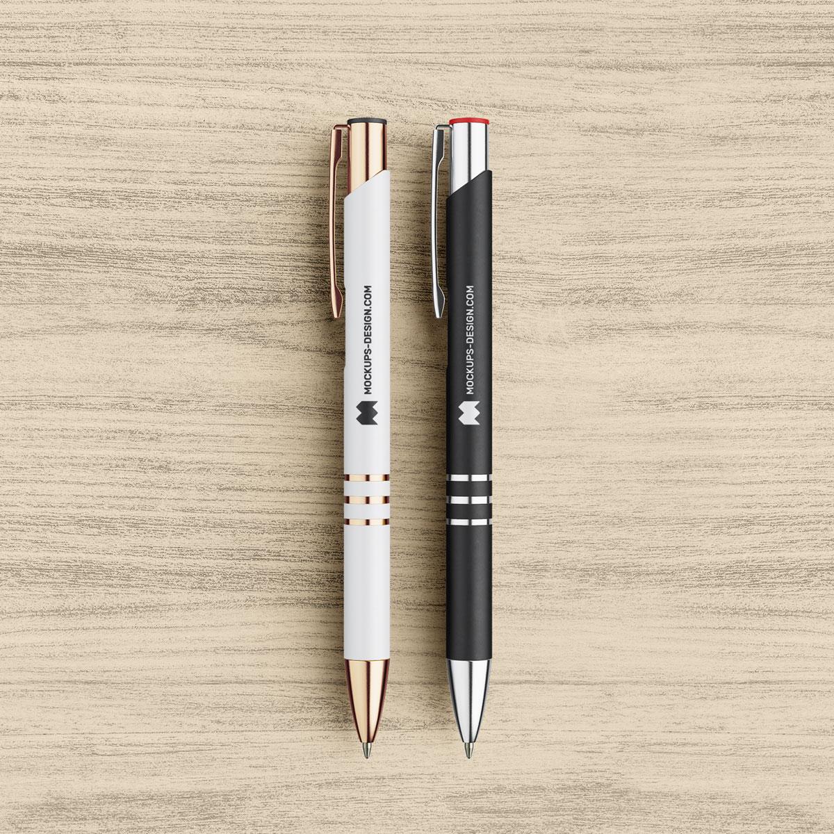 Free-Black-&-White-Pen-Mockup-PSD