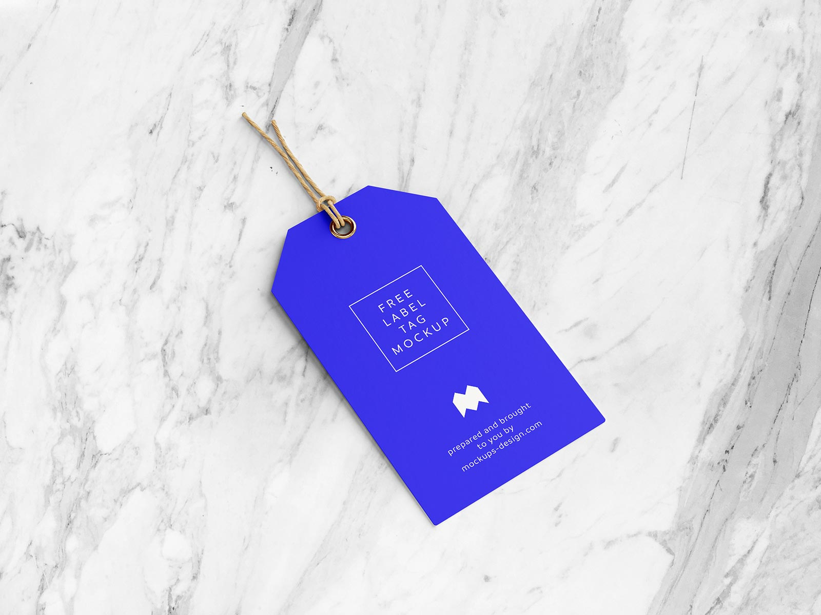 Free Clothing Label Hanging Tag Mockup PSD Set