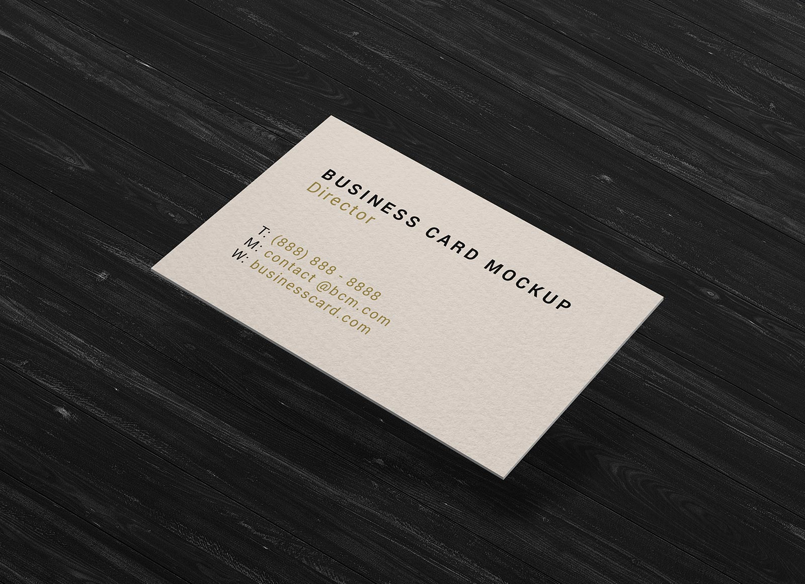 Free-Single-Sided-Simple-Business-Card-Mockup-PSD
