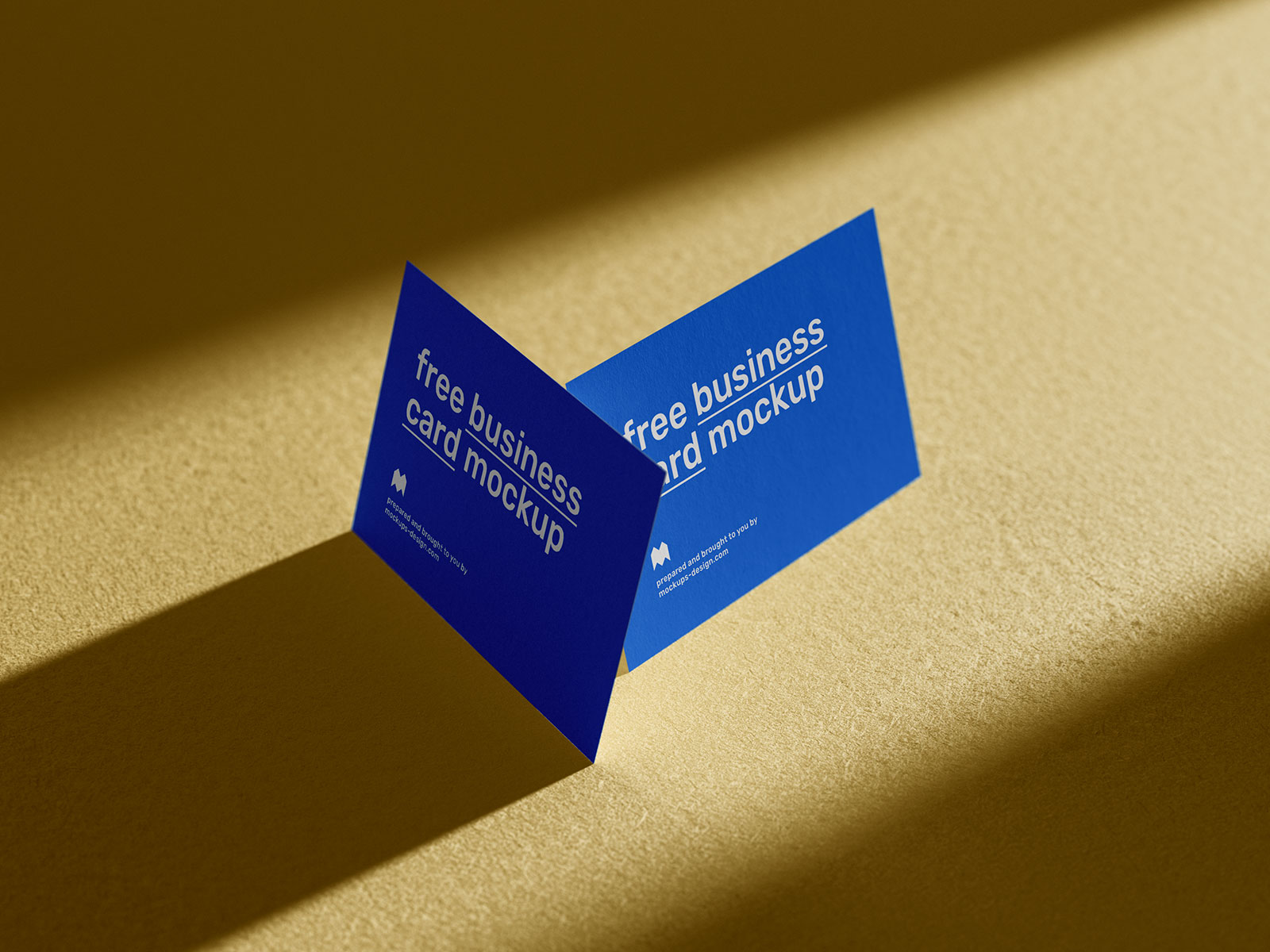 Free-Sunlight-Shadow-Business-Card-Mockup-PSD-Set