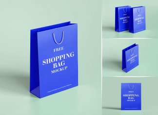 Free-Thick-Paper-Shopping-Bag-Mockup-PSD-Set