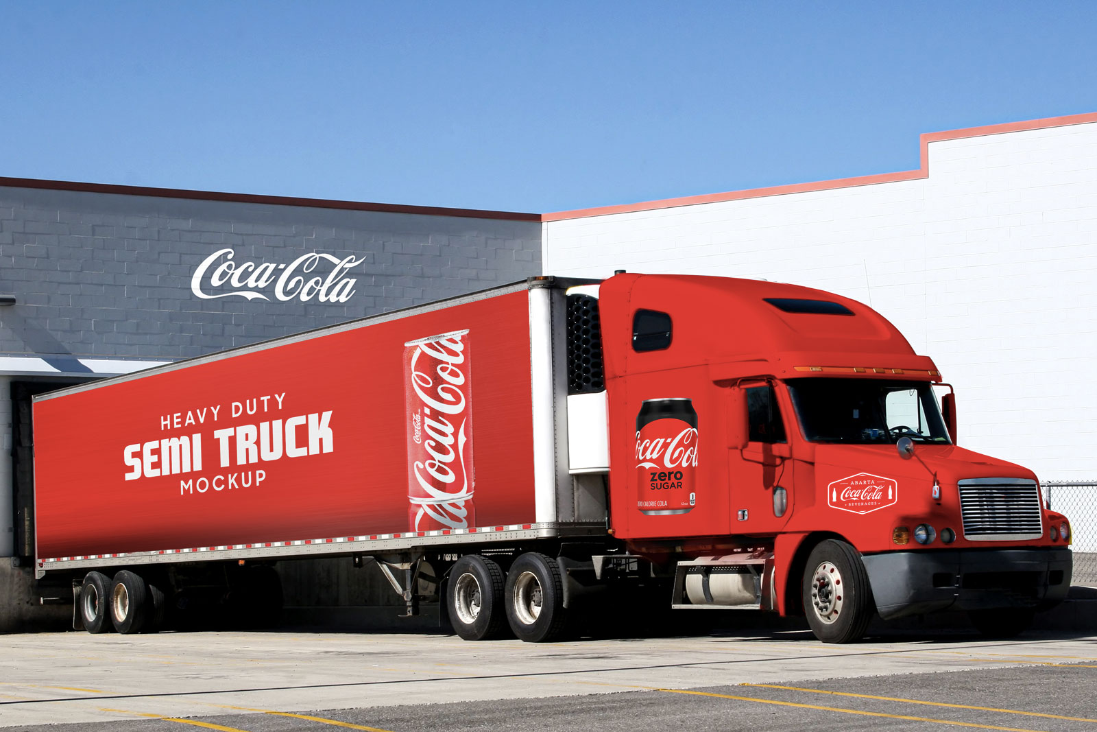 Free-American-Semi-Truck-Mockup-PSD