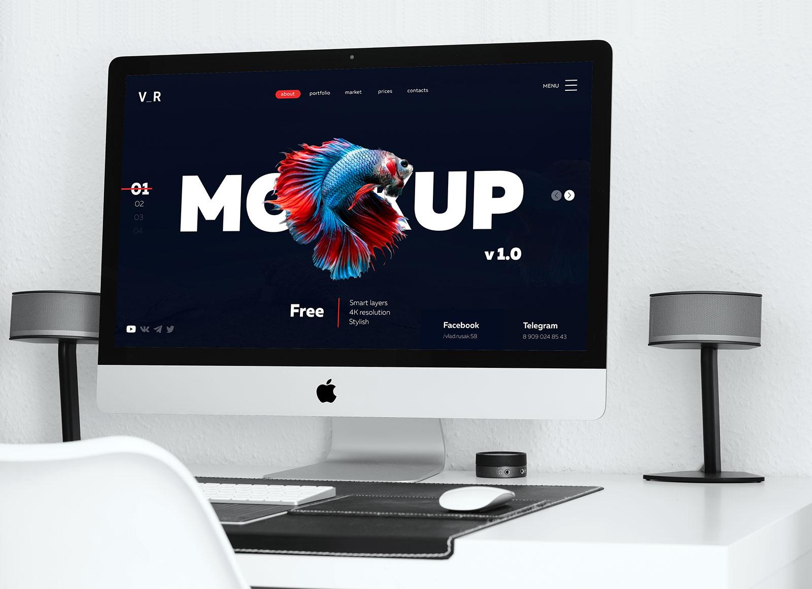 Free-Minimal-4K-iMac-Desktop-Mockup-PSD