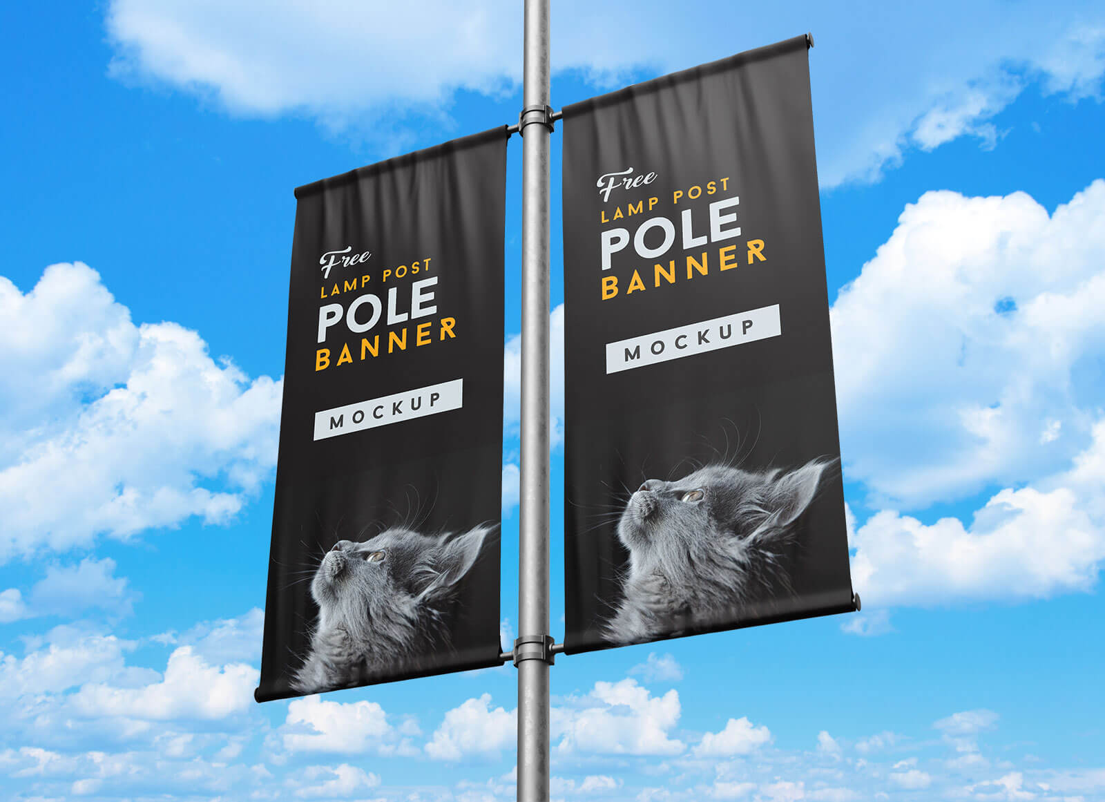 Free-Outdoor-Advertising-Street-Lamp-Post-Pole-Banner-Mockup-PSD-Set-Free (1)