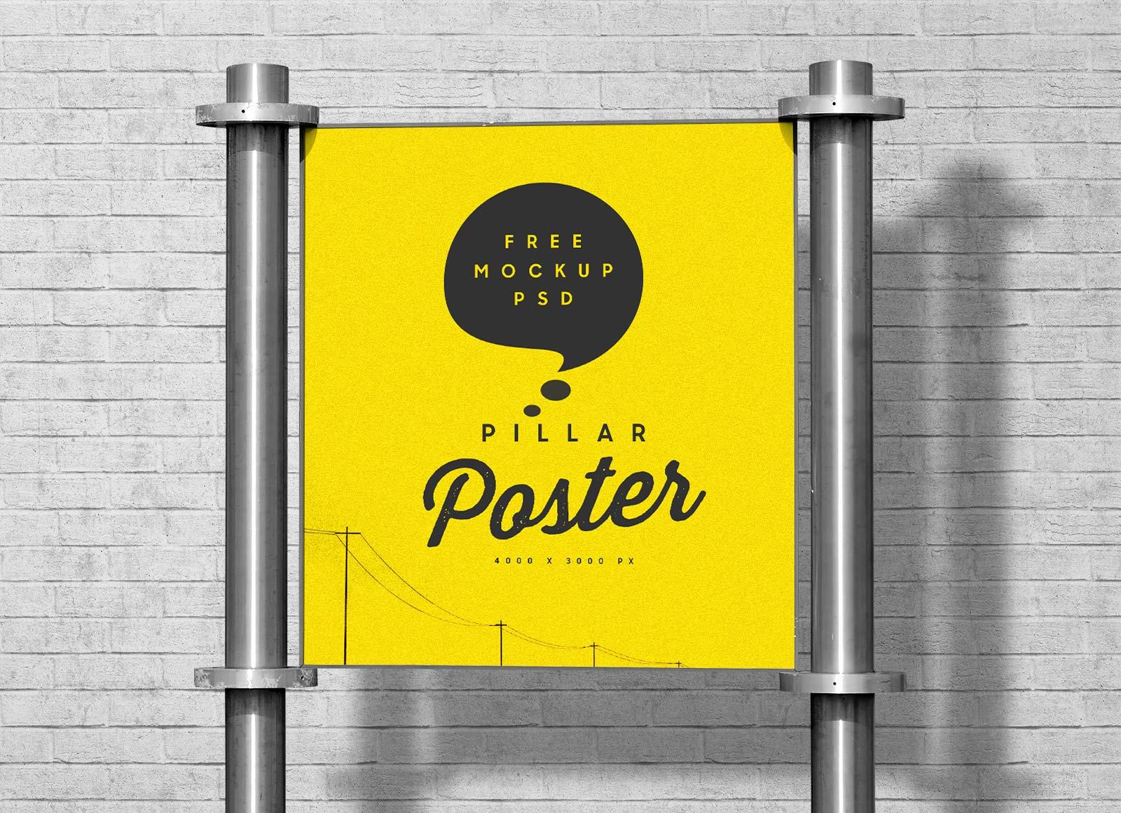 Free-Pillar-Poster-Mockup-PSD