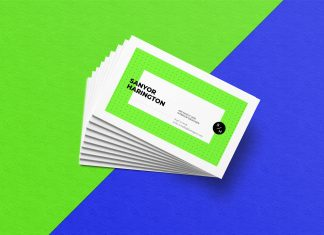 Free-Realistic-Stacked-Business-Card-Mockup-PSD