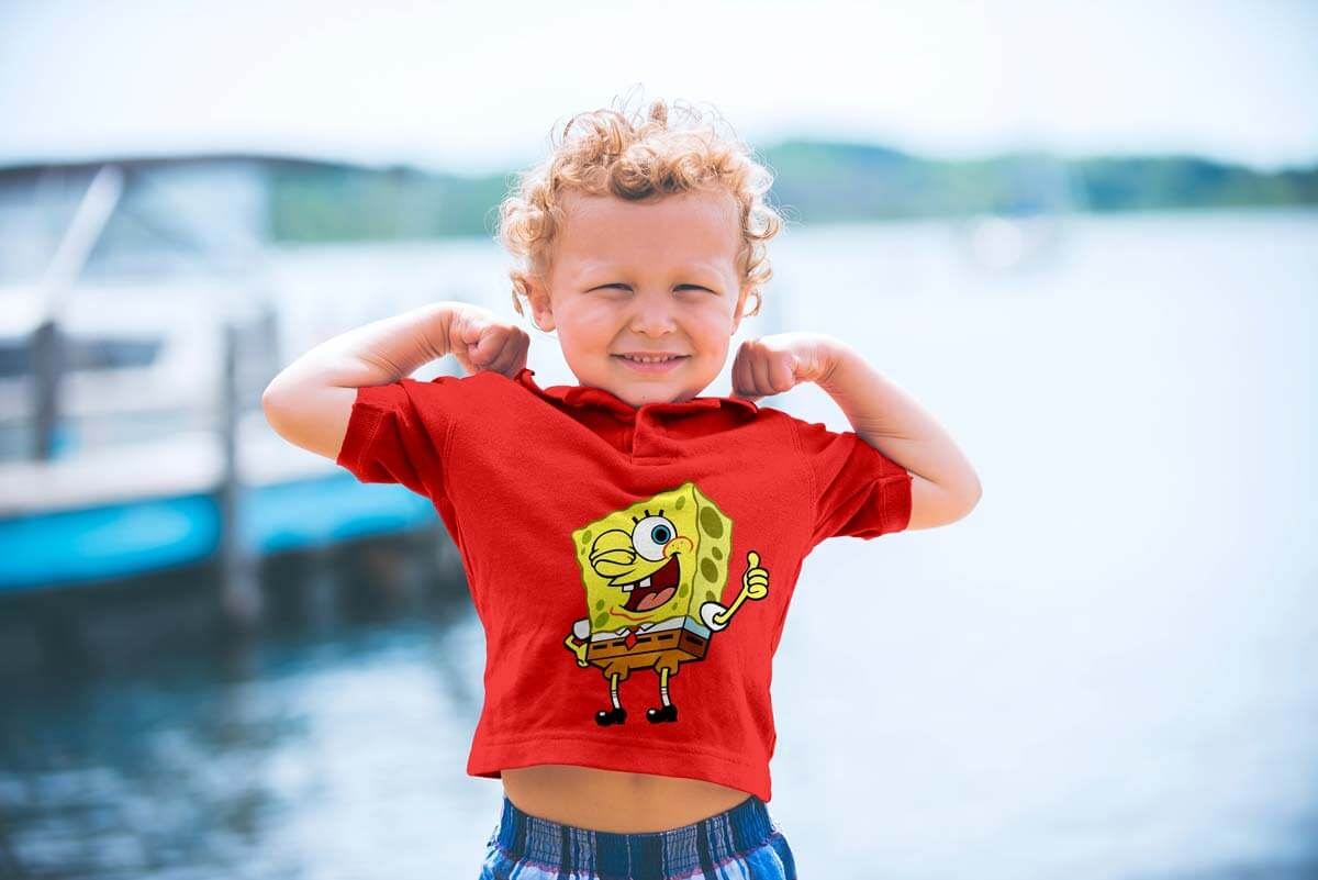 Free-Shirt-sleeves-Kids-T-Shirt-Mockup-PSD-File-2