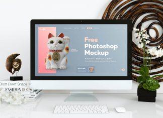 Free-Simple-&-Decorated-iMac-Desktop-Mockup-PSD (1)