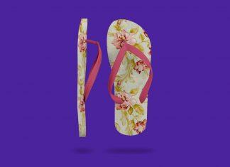 Free-Slippers-Beach-Flip-Flops-Mockup-PSD