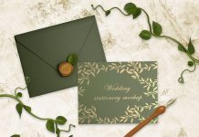 Free-Wedding-Card-&-Envelop-Mockup-PSD-Set