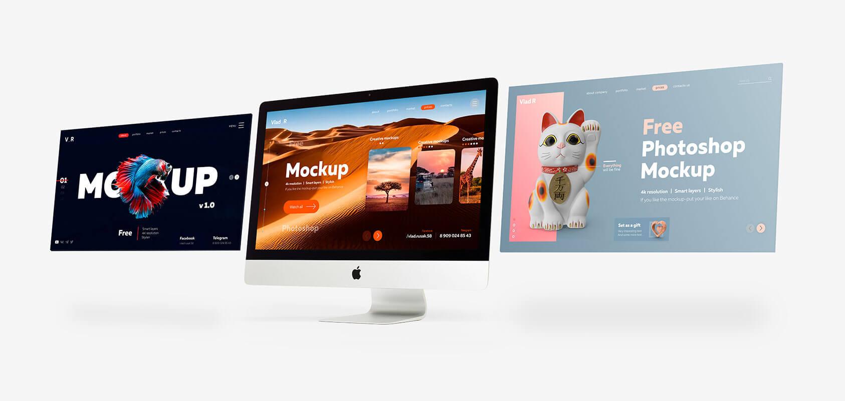 Free-iMac-Desktop-Screen-Mockup-PSD