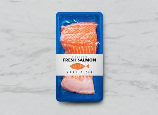 Free-Blue-Plastic-Seafood-Meat-Tray-Mockup-PSD
