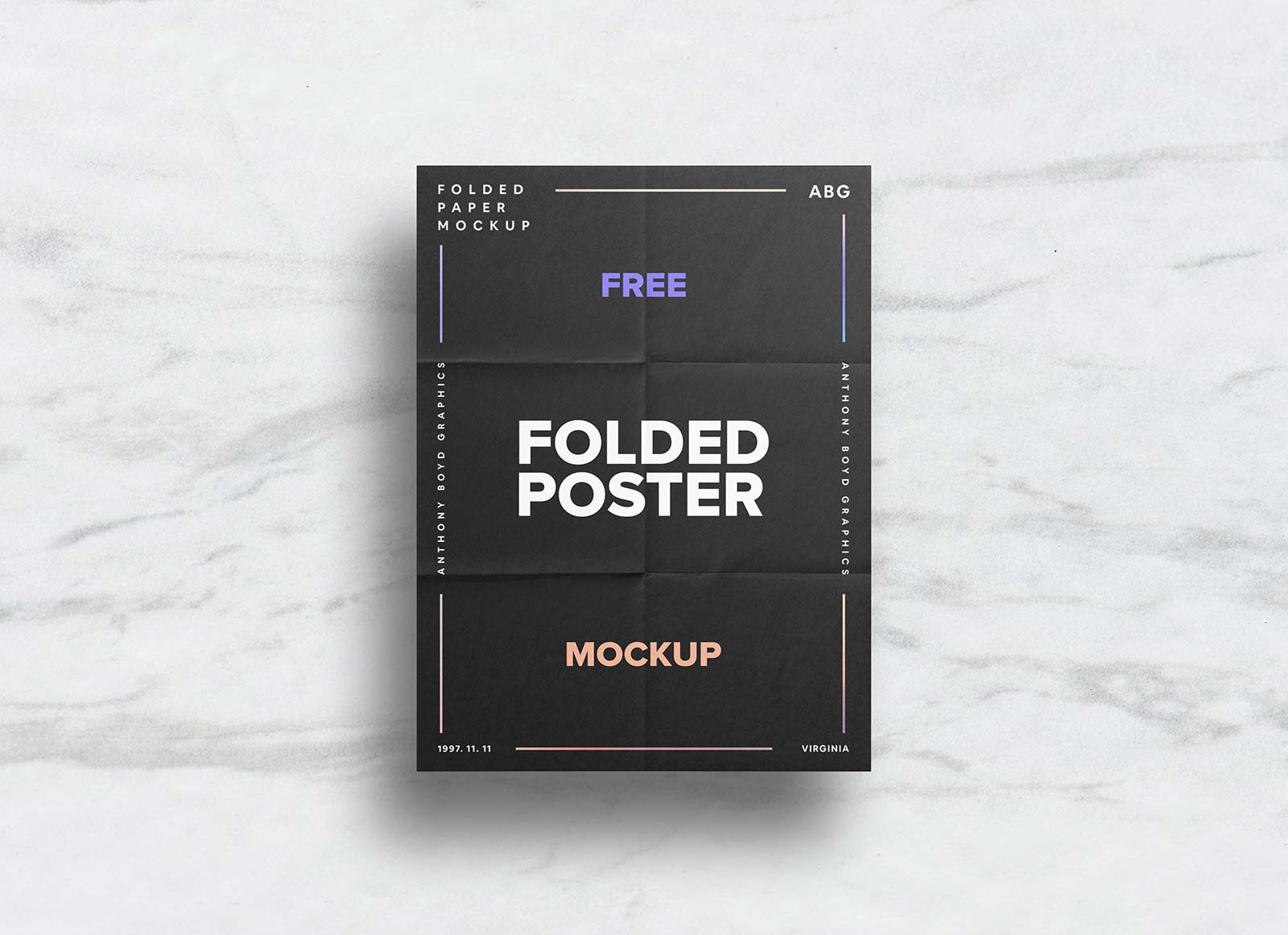 Free-Folded-Paper-Poster-Mockup-PSD